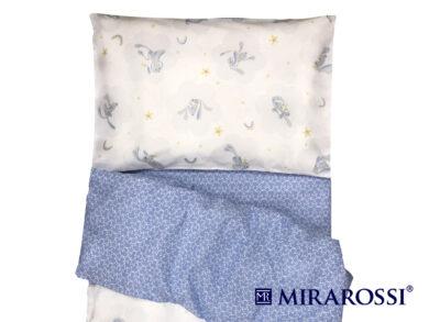 Постельное белье для новорожденных Зайка blue, фото 2