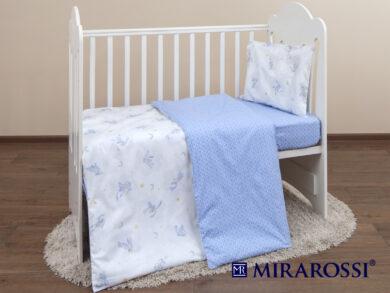 Постельное белье для новорожденных Зайка blue, фото 7
