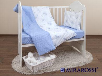 Постельное белье для новорожденных Зайка blue, фото 9