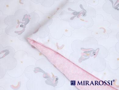 Постельное белье для новорожденных Зайка pink, фото 3