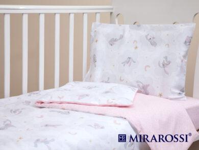 Постельное белье для новорожденных Зайка pink, фото 8