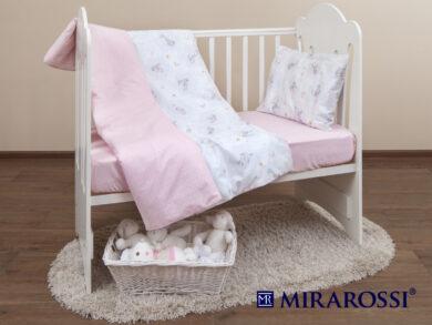 Постельное белье для новорожденных Зайка pink, фото 9