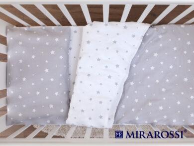 Постельное белье для новорожденных Звездочка grey, фото 4