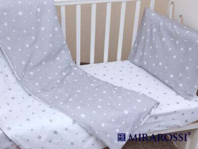 Постельное белье для новорожденных Звездочка grey, фото 5