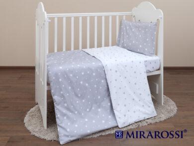 Постельное белье для новорожденных Звездочка grey, фото 7