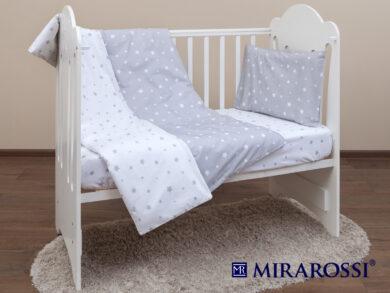 Постельное белье для новорожденных Звездочка grey, фото 9