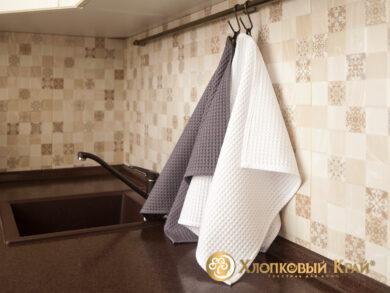 Набор из 3-х полотенец 45*70 см БЕЛЫЙ, фото 4