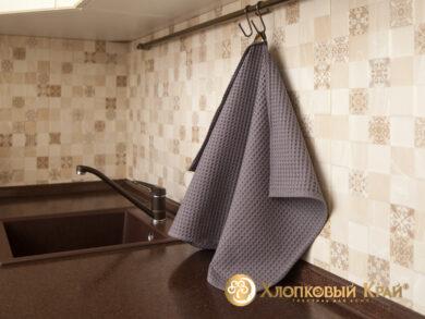 Набор из 3-х полотенец 45*70 см ГРАФИТ, фото 6
