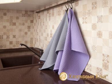 Набор из 3-х полотенец 45*70 см ГРЕЙ, фото 4