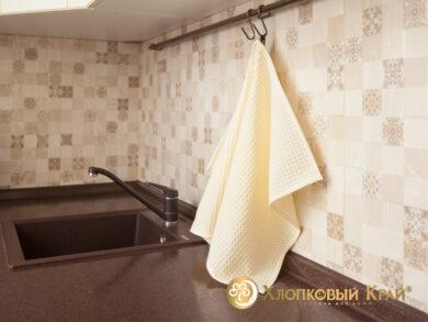 Набор из 3-х полотенец 45*70 см МОЛОКО, фото 6