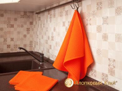 Набор из 3-х полотенец 45*70 см ОРАНЖ, фото 2