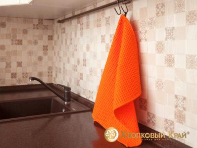 Набор из 3-х полотенец 45*70 см ОРАНЖ, фото 3