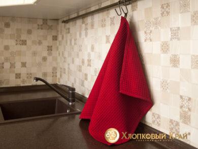 Набор из 3-х полотенец 45*70 см ВИШНЯ, фото 6