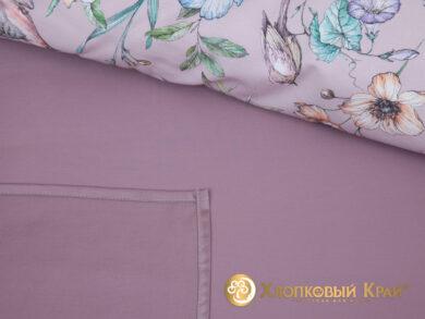 Постельное белье Аморетт слива, фото 8