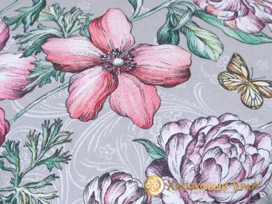 Постельное белье Флоретта грей, фото 11