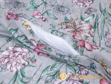 Постельное белье Флоретта грей, фото 7