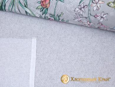 Постельное белье Флоретта грей, фото 8