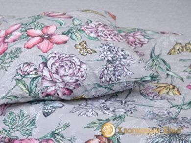 Постельное белье Флоретта грей, фото 9