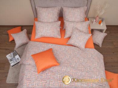 Постельное белье Наоми оранж, фото 2