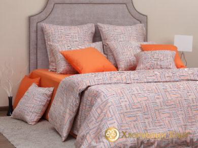 Постельное белье Наоми оранж, фото 4
