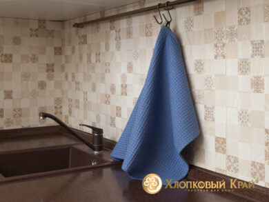 Набор из 3-х полотенец 45*70 см ДЕНИМ, фото 6