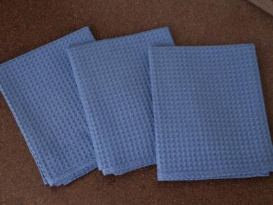 Набор из 3-х полотенец 45*70 см ДЕНИМ, фото 5