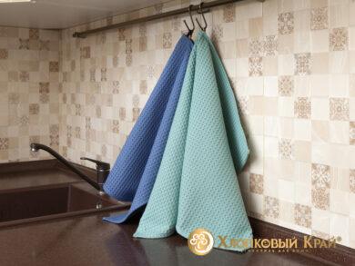 Набор из 3-х полотенец 45*70 см ДЕНИМ, фото 4