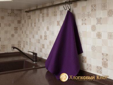 Набор из 3-х полотенец 45*70 см ФИОЛЕТ, фото 6